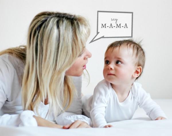 Cách chăm bé chậm nói cha mẹ cần biết