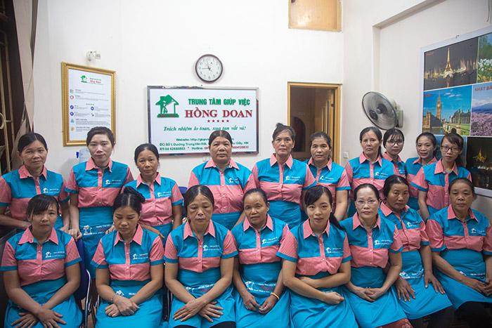 Trung tâm giúp việc Hồng Doan với gần 10 năm hình thành và phát triển
