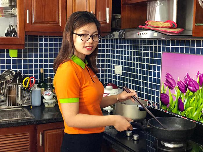Trung tâm Giúp việc Hồng Doan có cung ứng người giúp việc nấu ăn ngon