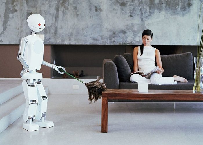 Robot giúp việc nhà người bạn đồng hành của mọi gia đình